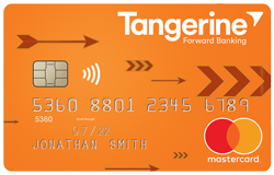 Tangerine Money-Back Card