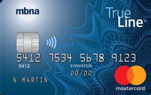 MBNA True Line Gold Mastercard