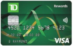 TD Rewards Visa Credit Card