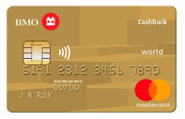BMO Cashback World Elite Mastercard